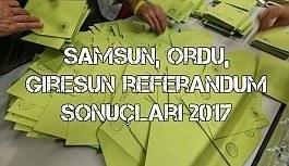 Samsun, Ordu, Giresun ili referandum sonuçları 2017