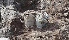 Tunceli'de el yapımı patlayıcı ele geçirildi