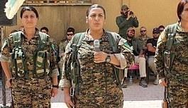 ABD'li askerler YPG'li teröristlerin yemin törenine katıldı