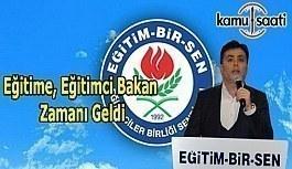 """Ahmet Aydınsoy'dan Cumhurbaşkanı'na çağrı; """"Eğitime Eğitimci Bakan Zamanı Geldi"""""""
