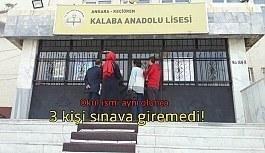 Ankara'da okul ismi yüzünden KPSS'ye giremediler