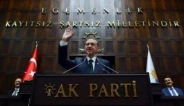 Cumhurbaşkanı Erdoğan, AK Parti grup toplantısında konuşma yapıyor