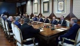 Cumhurbaşkanı Erdoğan görevleri biten HSYK üyelerini kabul etti