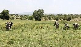 Diyarbakır'da terör operasyonu, 2 asker yaralı