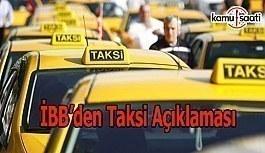 İBB'den havalimanı taksi duraklarına ilişkin açıklama