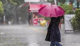 Meteoroloji'den 13 ile kuvvetli yağış uyarısı