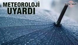 Meteorolojiden Doğu  Karadeniz'e kuvvetli yağış uyarısı