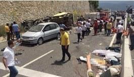 Muğla'daki kazaya ilişkin midibüsün sahibine tutuklama