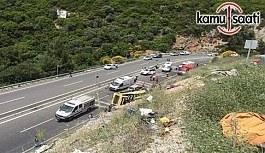 Muğla Marmaris'te tur otobüsü-midibüsünde Ölen ve Yaralıların isim listesi