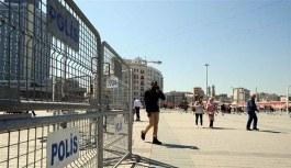 Taksim Meydanı'nda yoğun '1 Mayıs' önlemi
