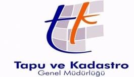 Tapu ve Kadastro Genel Müdürlüğü'ne 1500 personel alımı yapılacak