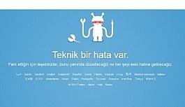 Twitter açılmıyor, teknik bir hata var