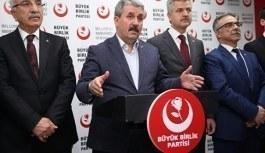 BBP Genel Başkanı Destici'den bedelli askerlik açıklaması