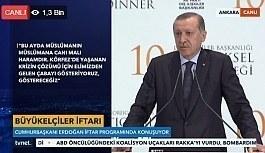 Cumhurbaşkanı Erdoğan gündeme dair açıklamalar yapıyor