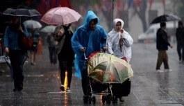 Meteoroloji'den 24 ile kuvetli yağış uyarı
