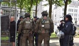 Alman polisi, Erdoğan'ın konvoyunu durdurdu