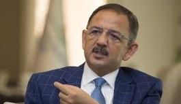 Bakan Özhaseki'den flaş açıklama: Yıkılması lazım