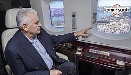 Başbakan Yıldırım 3. Havalimanı inşaatını inceledi