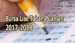 TEOG Bursa Lise Taban Puanları 2017-2018