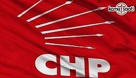 CHP programa katılmama kararı aldı