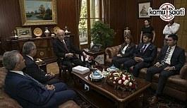 Darbe Komisyonu raporunu TBMM Başkanı Kahraman'a sundu