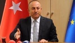 Dışişleri Bakanı Çavuşoğlu'ndan sert Kıbrıs açıklaması