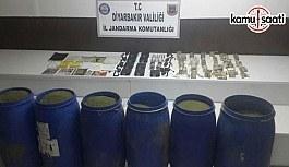 Diyarbakır'da çok sayıda mühimmat ve uyuşturucu madde ele geçirildi