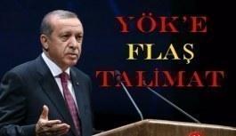 Erdoğan'dan YÖK'e yardımcı doçentlik talimatı