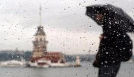 İstanbul'da yağış! Yağmur nedeniyle ulaşımda aksaklıklar yaşanıyor