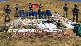 Lice'de PKK sığınağı imha edildi