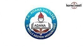 Adana İl MEM, Norm Kadro Fazlası Öğretmen Atama Sonuçları (TASLAK LİSTE)
