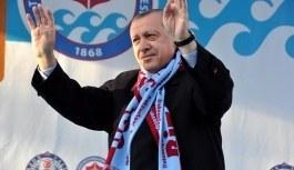 Erdoğan'dan Trabzonspor'un 50. yılı için mesaj