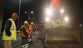 Şehitler Köprüsü'ndeki çalışmalar 25 Ağustos'ta bitecek