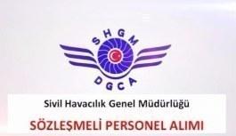 Sivil Havacılık Genel Müdürlüğü, sözleşmeli personel alım ilanı yayımladı