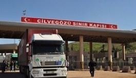 Suriye sınırında TIR'lara sınırlama getirildi