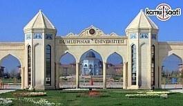 Dumlupınar Üniversitesi Afet ve Acil Durum Yönetimi Eğitim Araştırma Merkezi Yönetmeliğinde Değişiklik