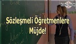 Sözleşmeli Öğretmenlere Müjde! - MEB'den...