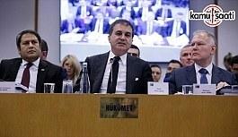 AB Bakanı ve Başmüzakereci Çelik: Türkiye Gümrük Birliğinin güncellenmesine hazır