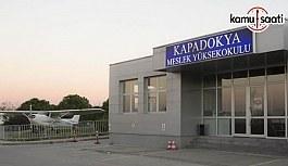 Kapadokya Üniversitesi'ne ait 4 yönetmelik - 13 Kasım 2017 Resmi Gazete