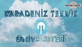 KTÜ Lisansüstü Eğitim-Öğretim Yönetmeliğinde Değişiklik Yapıldı - 27 Kasım 2017