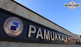 Pamukkale Üniversitesi Lisansüstü Eğitim ve Öğretim Yönetmeliğinde Değişiklik Yapıldı