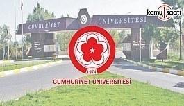 Cumhuriyet Üniversitesi Radyo-Televizyon Araştırma ve Uygulama Merkezi Yönetmeliğinin Yürürlükten Kaldırıldı