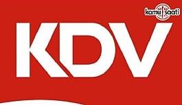 KDV Genel Uygulama Tebliğinde Değişiklik Yapıldı - 5 Aralık 2017