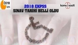 2018 EKPSS yerleştirme takvimi açıklandı