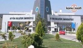 Afyon Kocatepe Üniversitesi İş Sağlığı ve Güvenliği Eğitimi Uygulama ve Araştırma Merkezi Yönetmeliği - 24 Ocak 2018