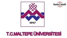 Maltepe Üniversitesi Önlisans ve Lisans Eğitim ve Öğretim ve Sınav Yönetmeliğinde Değişiklik Yapıldı - 22 Ocak 2018