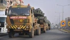 Suriye sınırına askeri sevkiyat yapılıyor