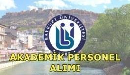 Bayburt Üniversitesi akademik personel alımı yapacak