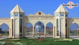 Dumlupınar Üniversitesi Lisansüstü Eğitim-Öğretim Yönetmeliğinde Değişiklik Yapıldı - 12 Şubat 2018