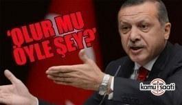 Erdoğan'dan kendine verilen gazilik unvanına tepki